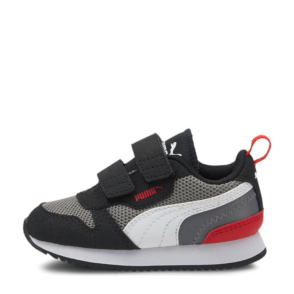 Puma R78 V Inf sneakers grijs/wit/zwart, Grijs/wit/zwart