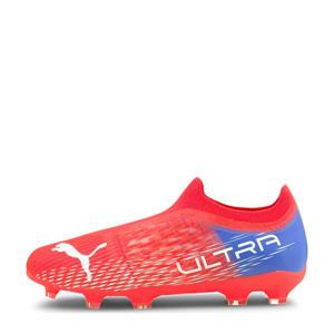 Ultra 3.3 FG/AG Jr. voetbalschoenen oranje/wit/blauw