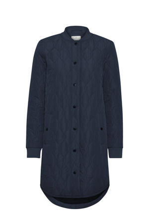 coat zomer ashally  donkerblauw