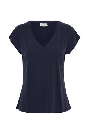 T-shirt Ana donkerblauw