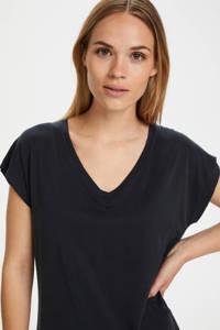 Kaffe T-shirt Lise zwart, Zwart
