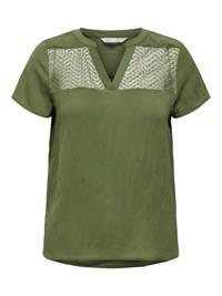 ONLY top ONLVERSA groen, Groen