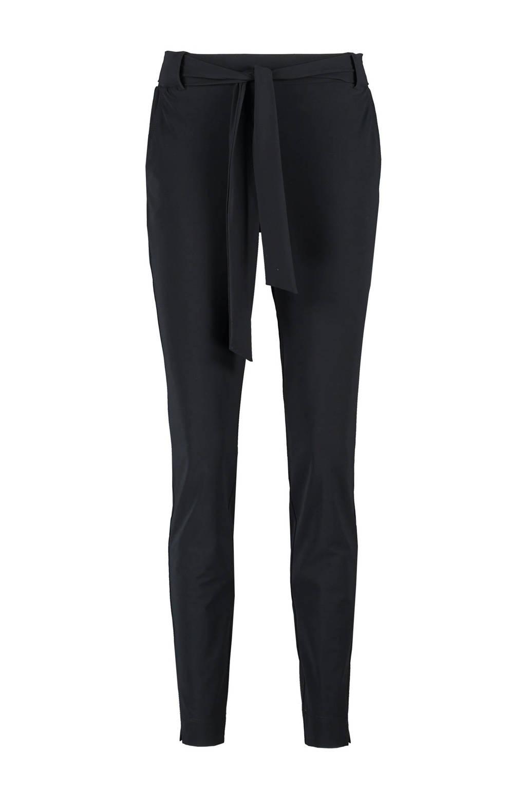 Expresso skinny broek Dconstanc zwart, Zwart