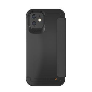telefoonhoesje Wembley Flip iPhone 12 Mini (Zwart)