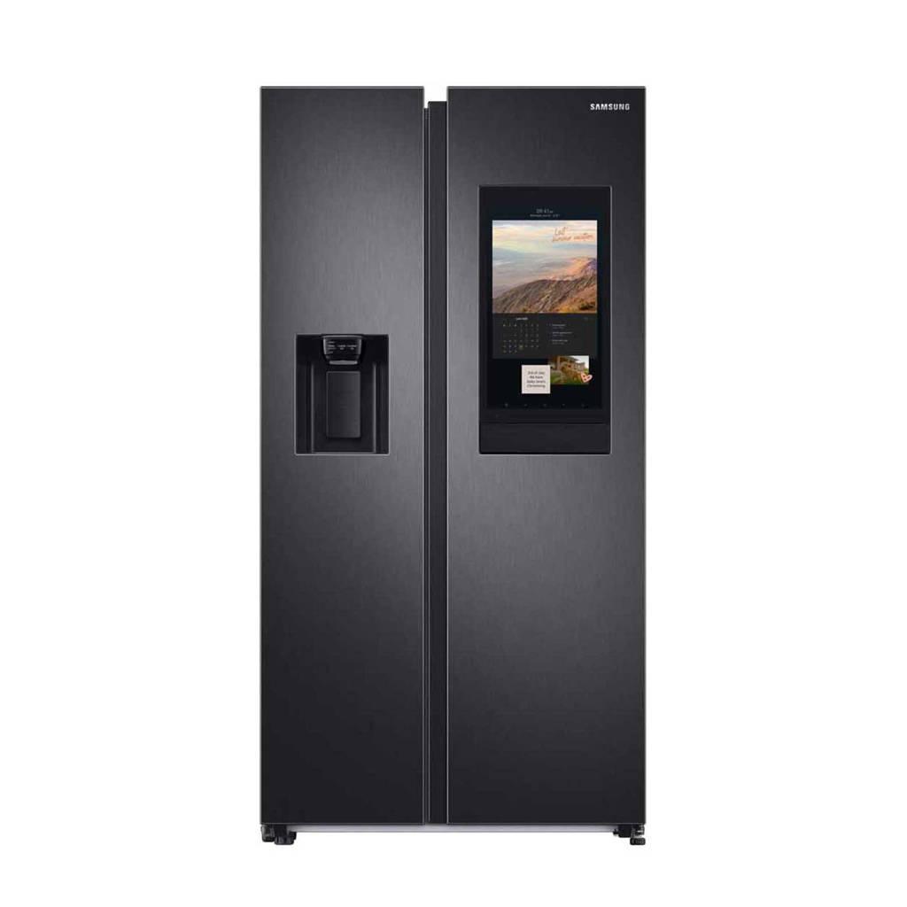 Samsung RS6HA8891B1 Family Hub amerikaanse koelkast, Zwart