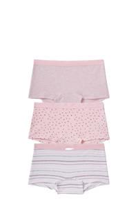 C&A Here & There boxershort - set van 3 roze, Roze