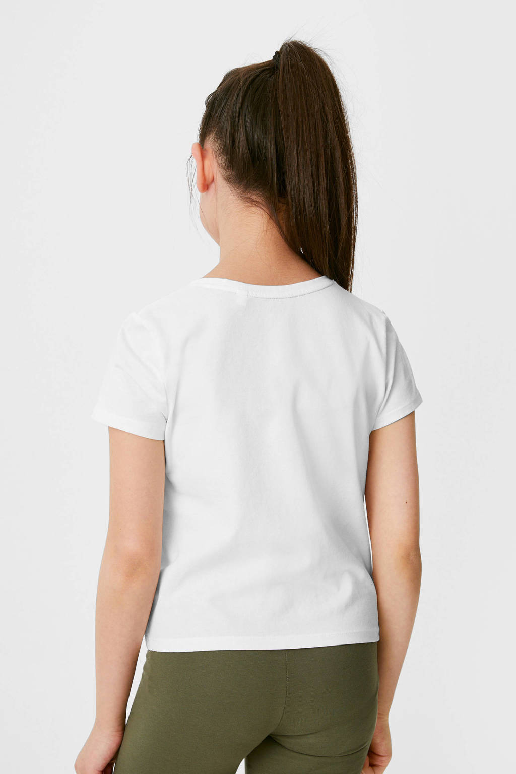 C&A Here & There T-shirt wit, Wit
