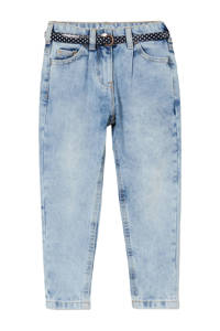 C&A Happy girls Club regular fit jeans blauw, Blauw