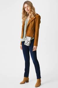 C&A The Denim slim fit jeans met biologisch katoen donkerblauw, Donkerblauw
