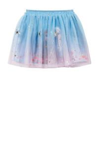 C&A Frozen Frozen Sister Forever rok met all over print en glitters blauw, Blauw