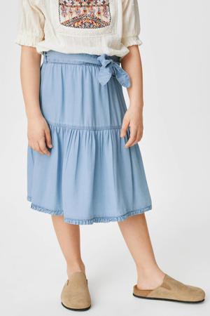 rok lichtblauw