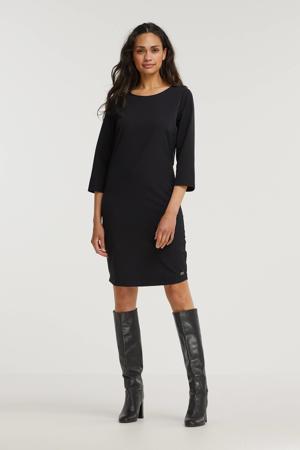 jurk Ellen van travelstof zwart