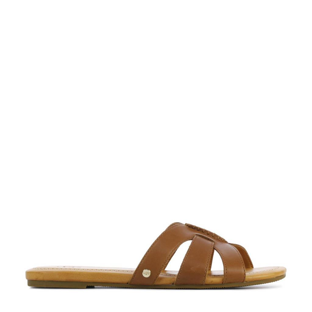 UGG Teague 1119750 leren slippers bruin, Bruin