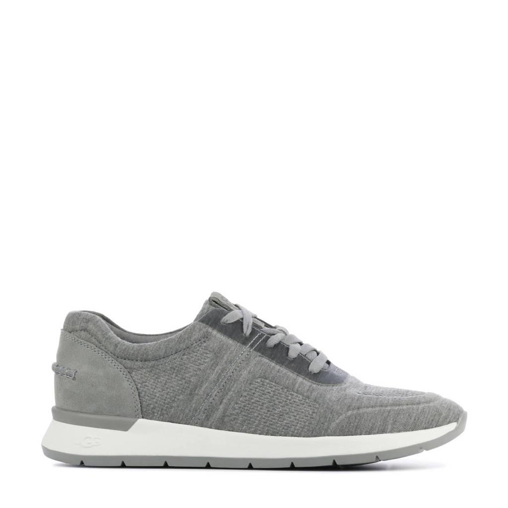 UGG Adeleen Jersey  sneakers grijs, Lichtgrijs