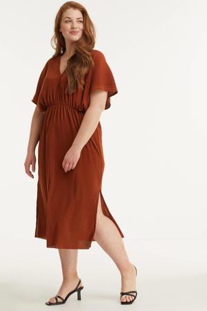 Plisse jurk