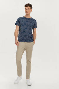Ellos ON OUR TERMS T-shirt met all over print cedric blue, Cedric Blue