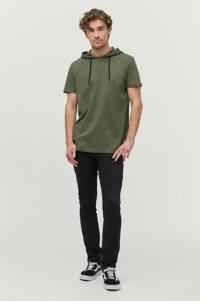 Ellos Sons of Owen T-shirt olijfgroen, Olijfgroen