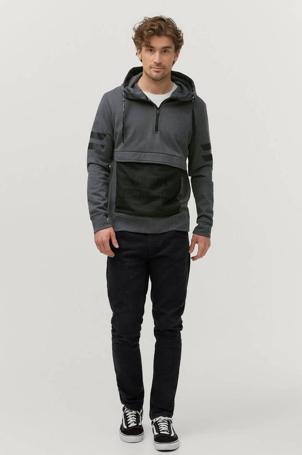 Ellos Sons of Owen  hoodie grijs/zwart, Grijs/zwart