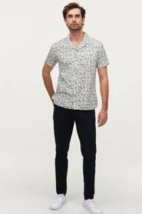 Ellos ON OUR TERMS regular fit overhemd met all over print floyd white, Floyd White