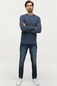 Ellos Sons of Owen trui jeansblauw, Jeansblauw