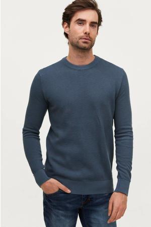hoodie jeansblauw