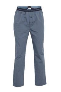 BOSS gestreepte pyjamabroek blauw, Blauw