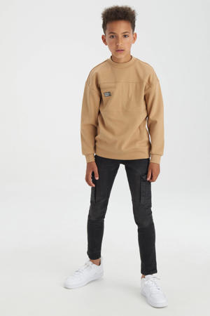 sweater met logo camel