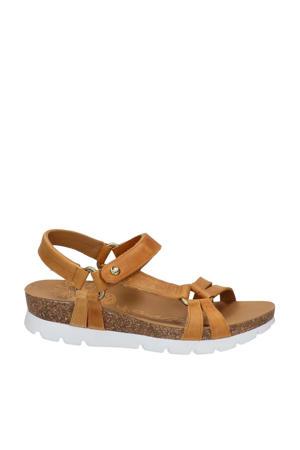 Sally Basics  nubuck sandalen bruin