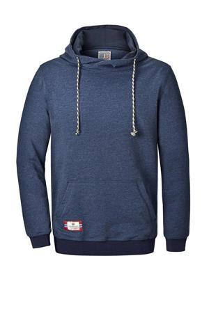 gemêleerde hoodie BLANKARD Plus Size donkerblauw