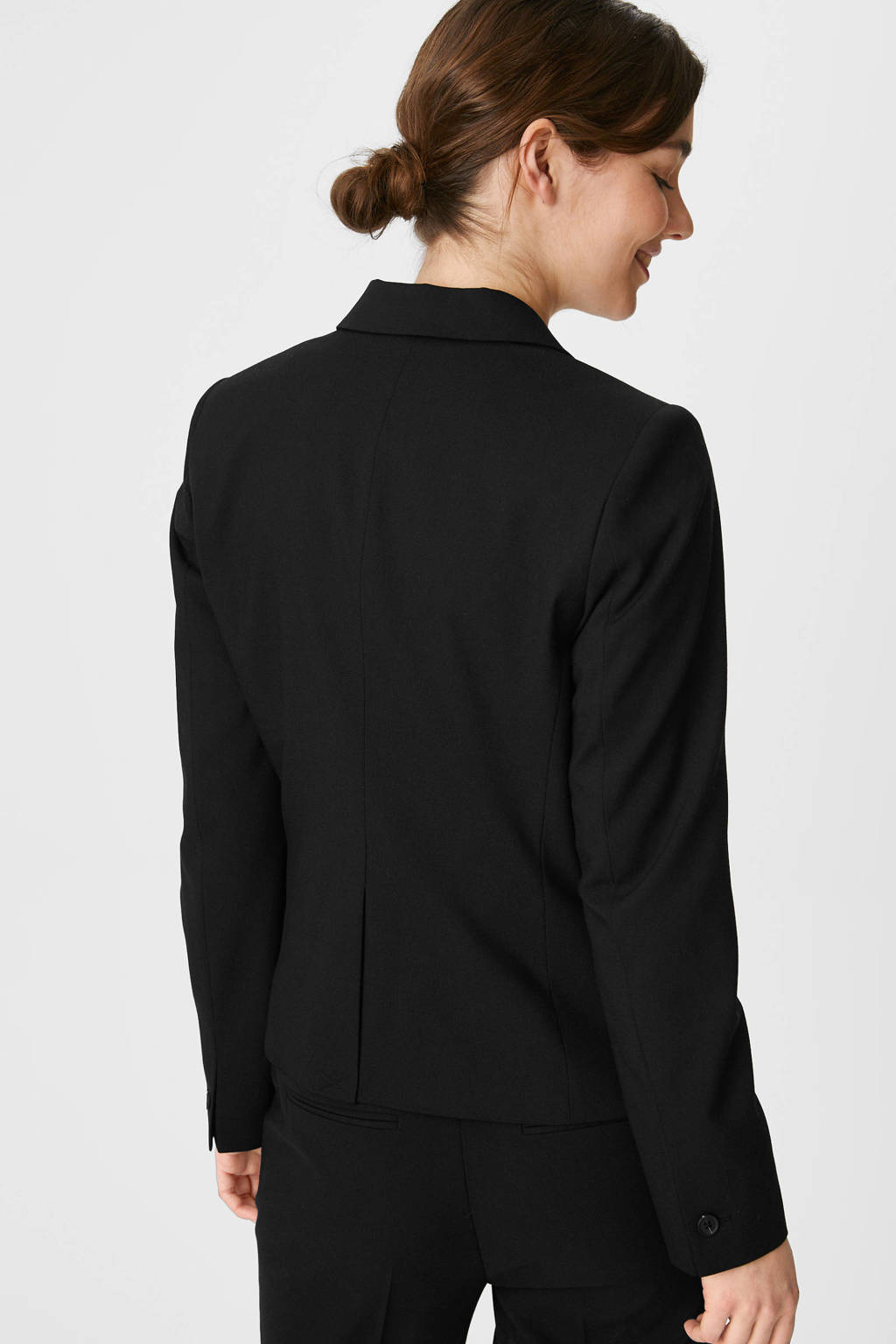 C&A Yessica Tailored blazer zwart, Zwart