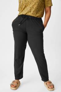 C&A XL Yessica loose fit broek zwart, Zwart