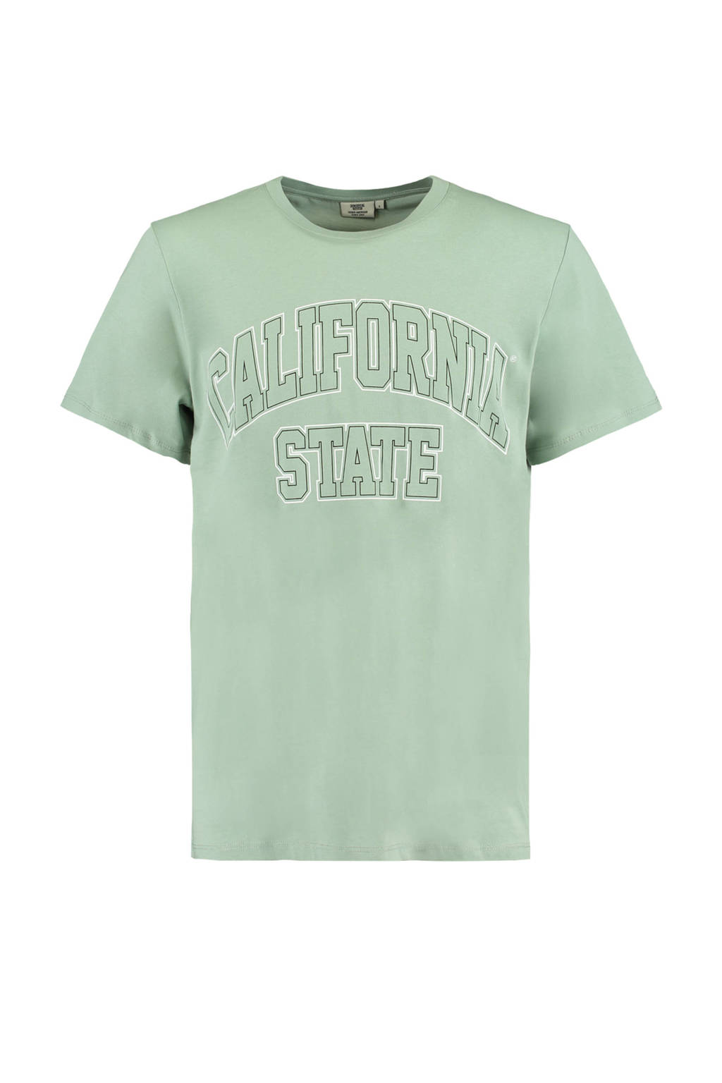 America Today T-shirt Elias State van biologisch katoen groen, Groen