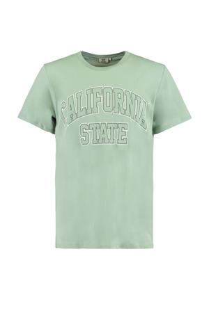 T-shirt Elias State van biologisch katoen groen