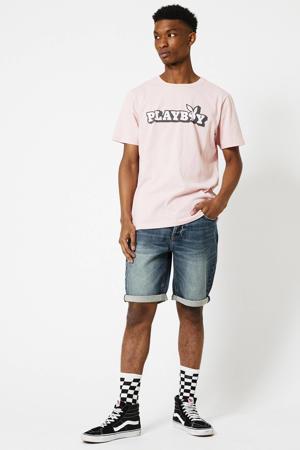 regular fit jeans short Robert medium blue