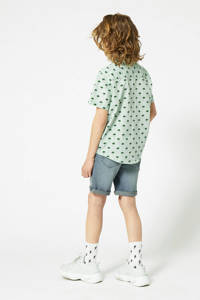 America Today Junior jog denim bermuda lichtblauw, Lichtblauw