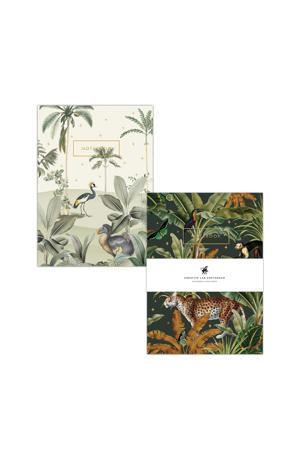 A5 schriften - set van 2 Dodo Oasis & Mighty Jungle