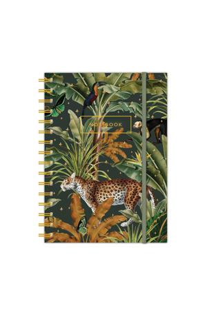 A6 notitieboek met ringband Mighty Jungle