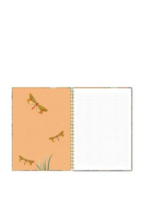 A4 notitieboek met ringband Flirting Toucans