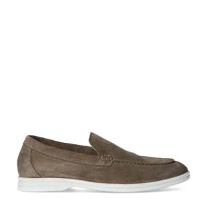 suède loafers taupe