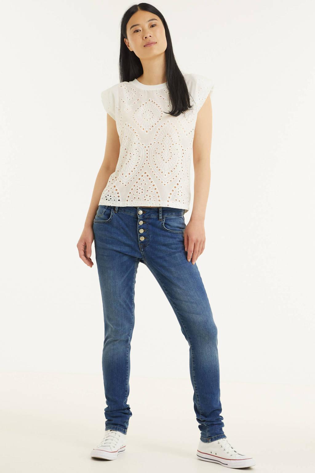 Zabaione skinny jeans Kim blauw, Blauw