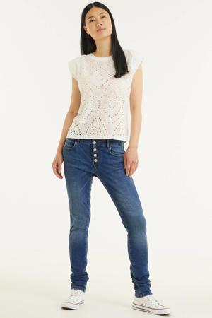 skinny jeans Kim blauw