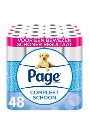 toiletpapier Compleet Schoon 48 rollen - 8x6 rollen