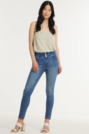 high waist skinny jeans Myra dark denim