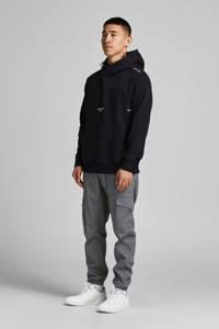 JACK & JONES CORE hoodie JCOHOMIE met logo zwart, Zwart
