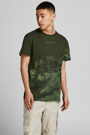 T-shirt JCONINES met all over print forest night