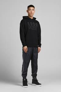 JACK & JONES CORE hoodie JCOTHAD met printopdruk zwart, Zwart