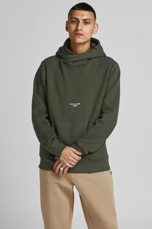 sweater met logo forest night