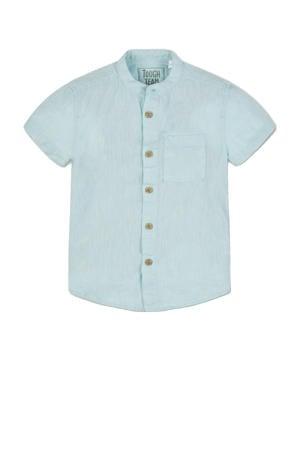 gemêleerd overhemd mintgroen