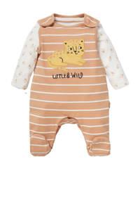 C&A Baby Club boxpak + longsleeve camel/ecru