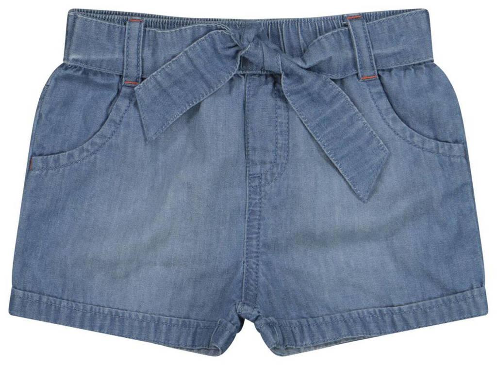 HEMA regular fit jeans short denimblauw, Denimblauw